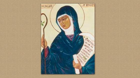 ¡Feliz Día de Santa Hildegarda de Bingen!